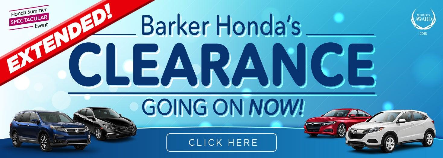Presidents Day Sale Honda