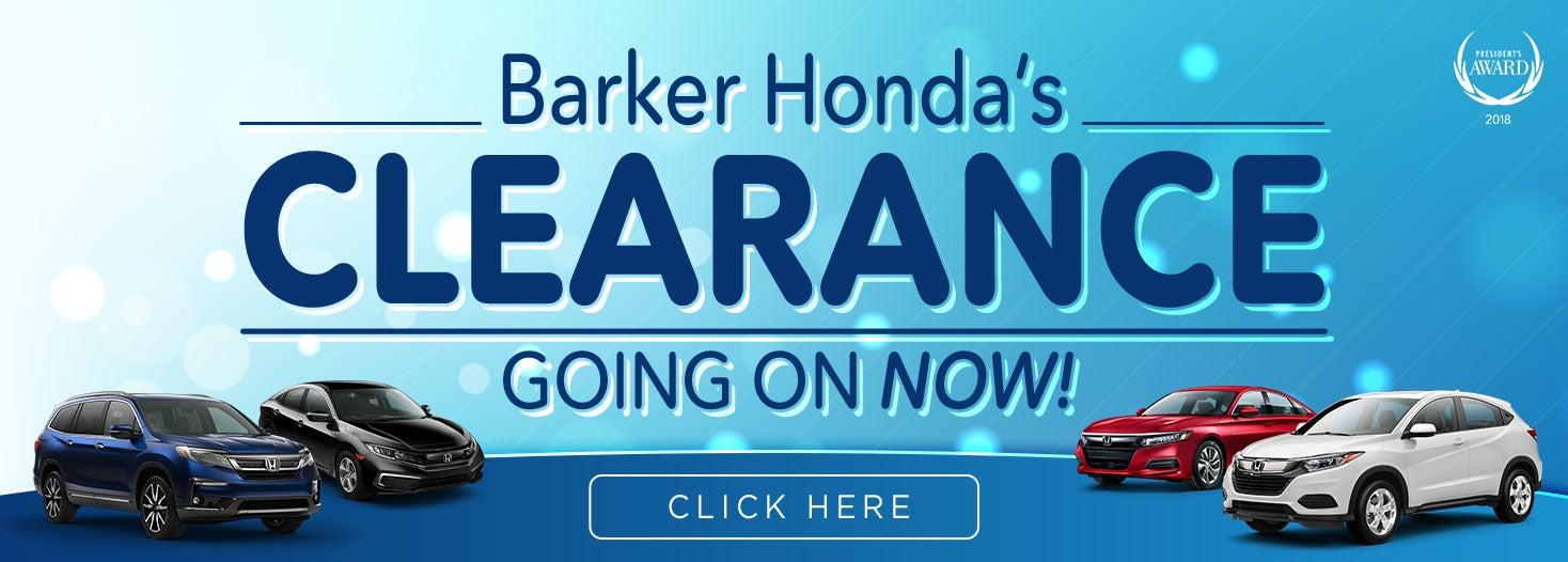 Honda Dealerships In Louisiana >> Barker Honda In Houma New Used Honda Dealership Near